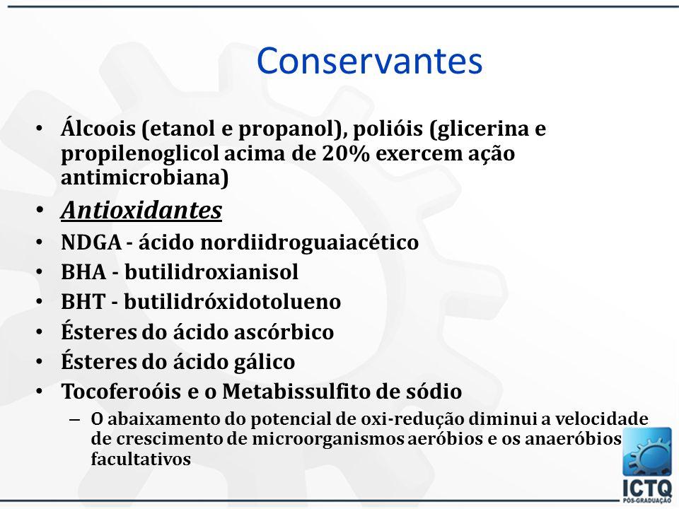Conservantes Antioxidantes