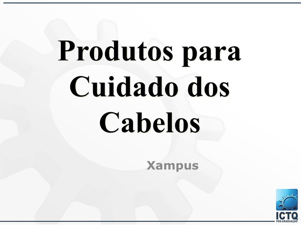 Produtos para Cuidado dos Cabelos