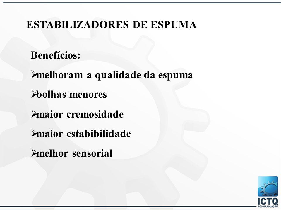 ESTABILIZADORES DE ESPUMA