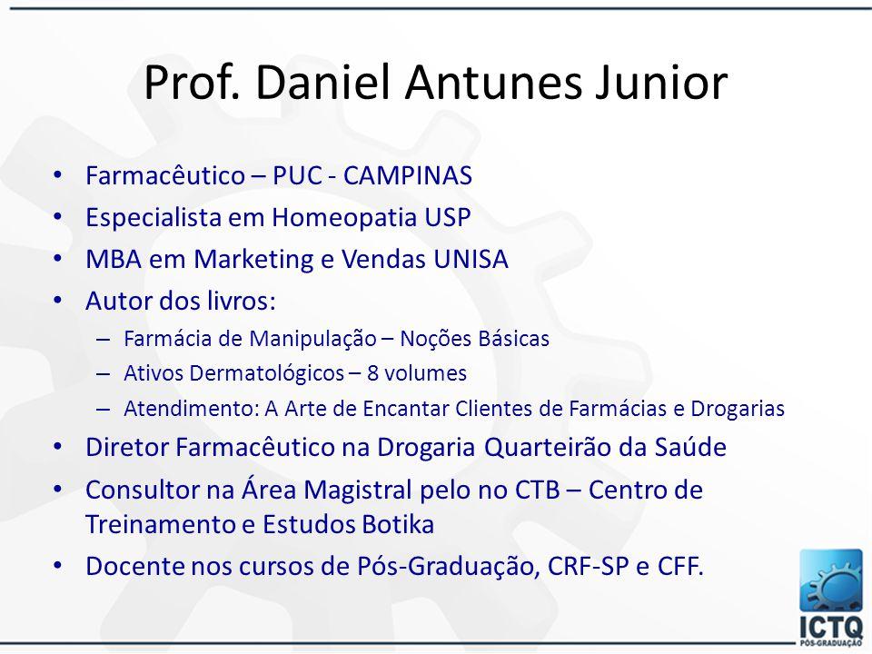 Prof. Daniel Antunes Junior
