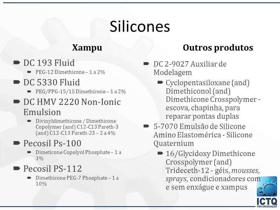 Silicones Outros produtos Xampu DC 193 Fluid DC 5330 Fluid