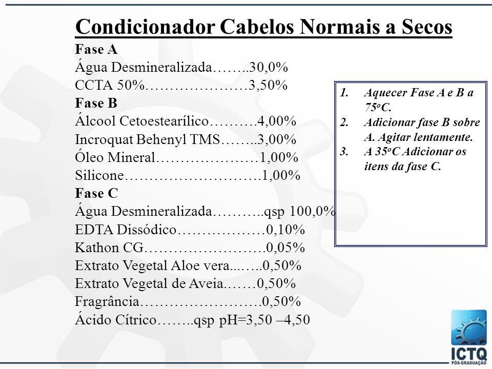 Condicionador Cabelos Normais a Secos