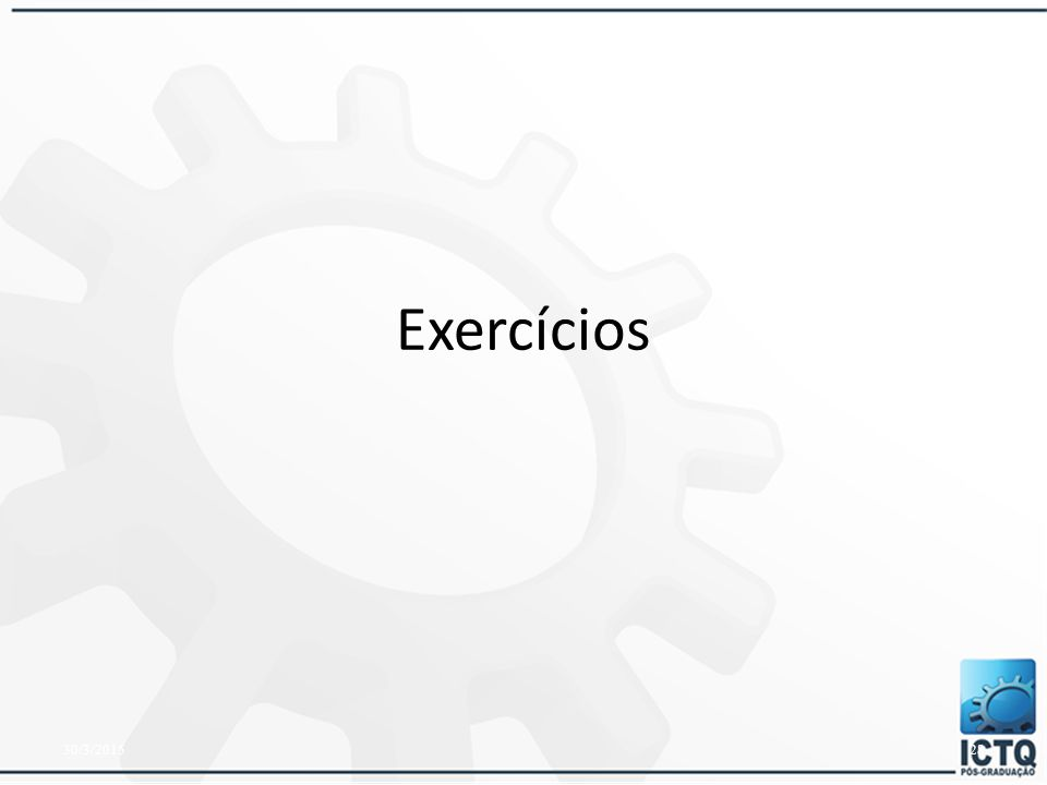 Exercícios 08/04/2017