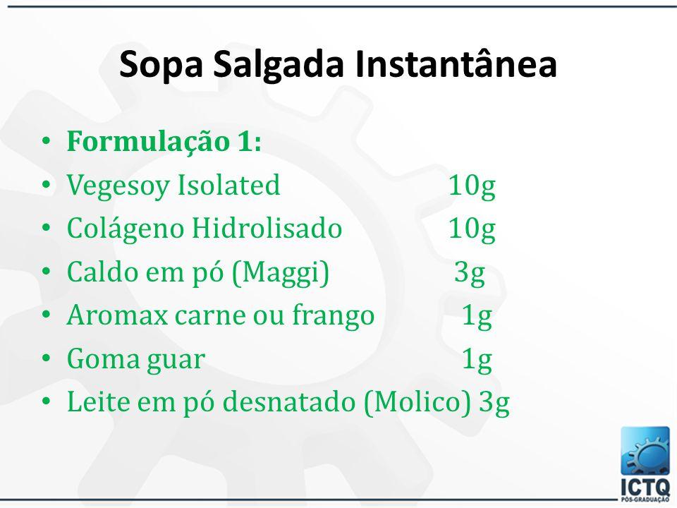 Sopa Salgada Instantânea