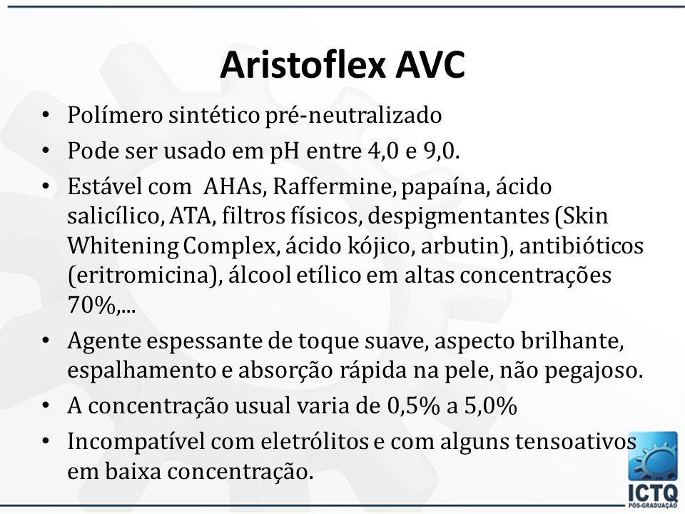 Aristoflex AVC Polímero sintético pré-neutralizado