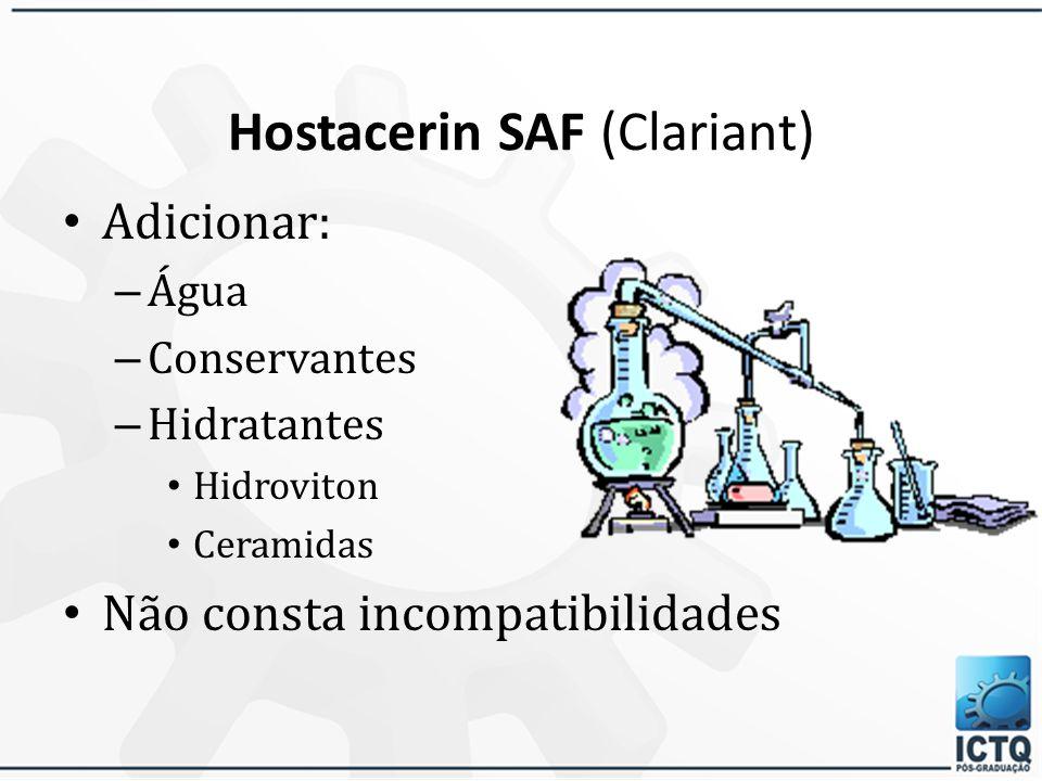 Hostacerin SAF (Clariant)