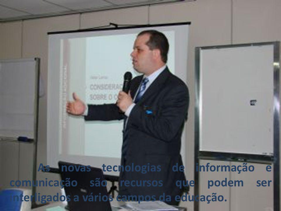 As novas tecnologias de informação e comunicação são recursos que podem ser interligados a vários campos da educação.