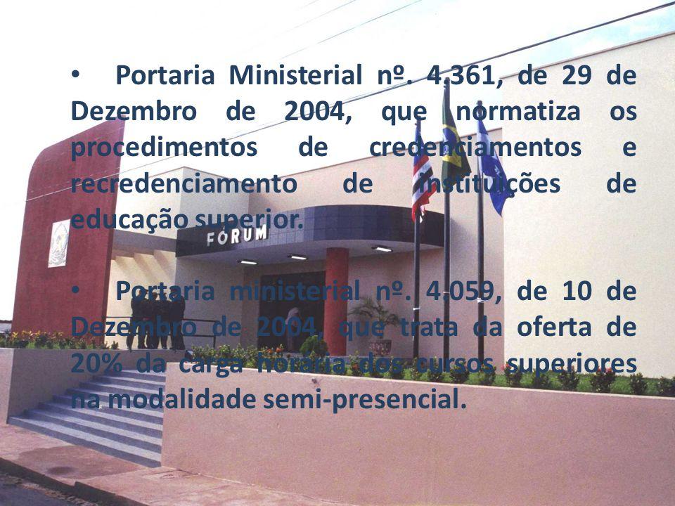 Portaria Ministerial nº. 4