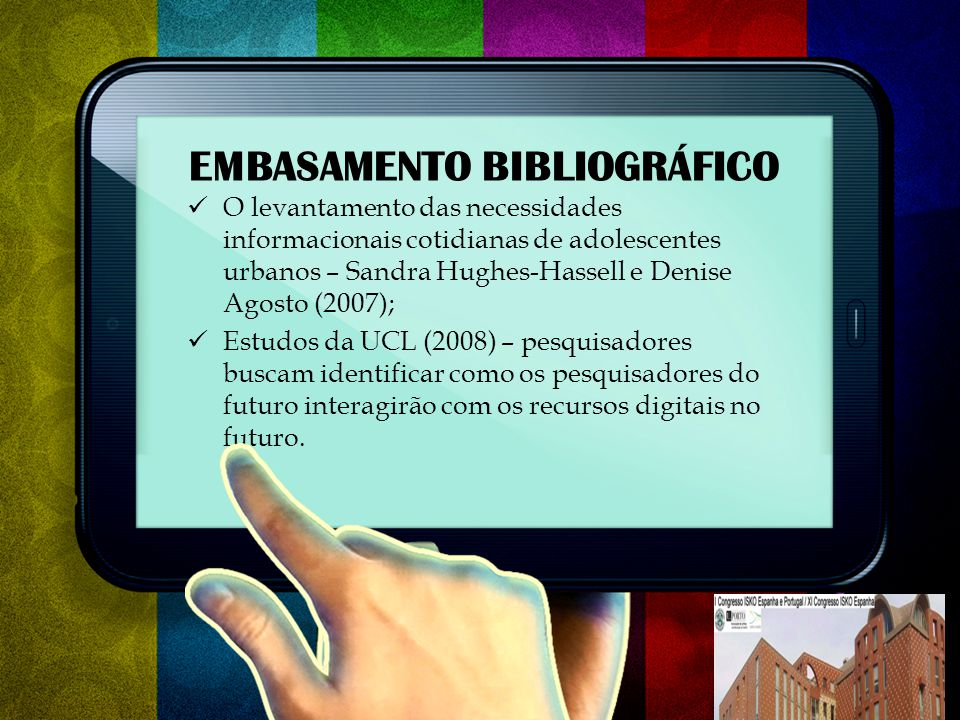 EMBASAMENTO BIBLIOGRÁFICO