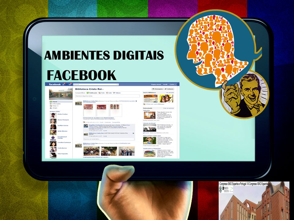 AMBIENTES DIGITAIS FACEBOOK