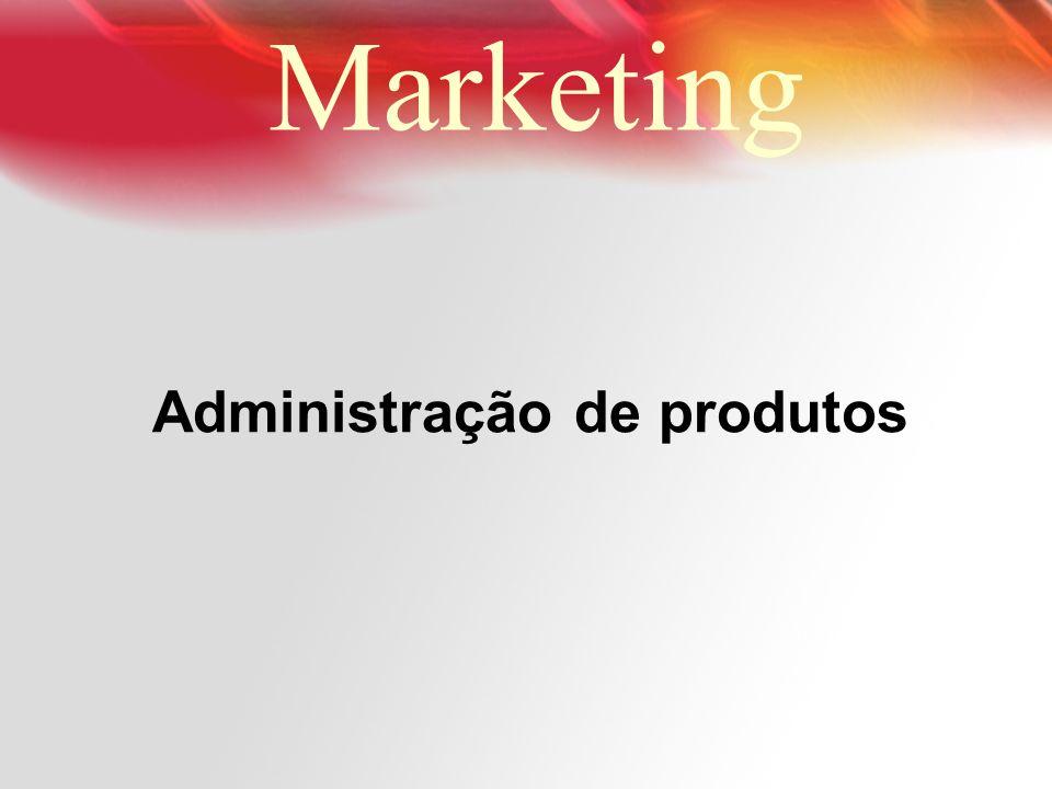 Administração de produtos
