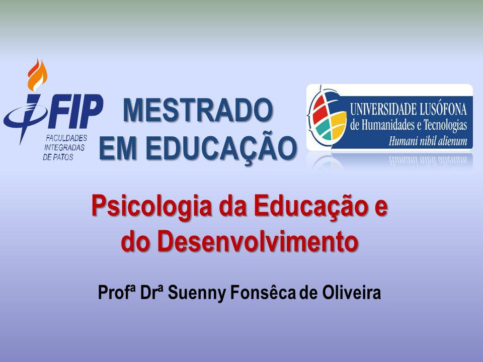 MESTRADO EM EDUCAÇÃO.