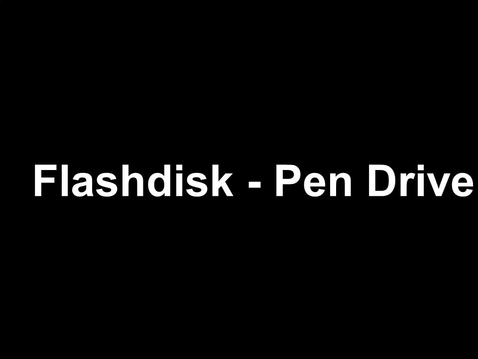 USB Flashdisk - Pen Drive