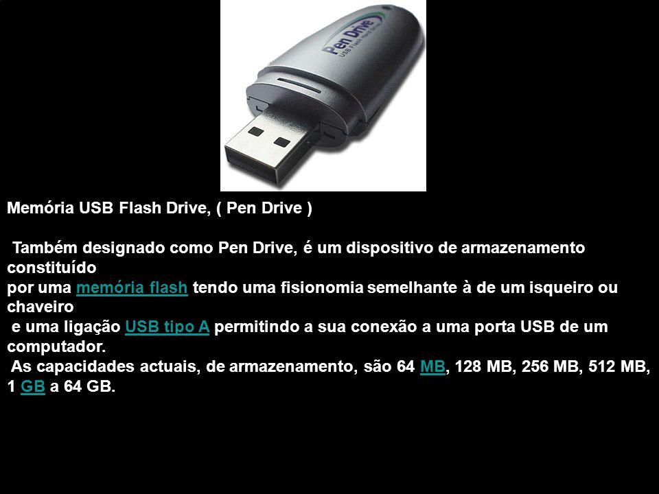 Memória USB Flash Drive, ( Pen Drive )