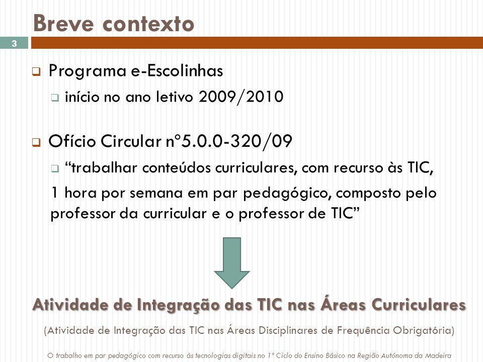 Atividade de Integração das TIC nas Áreas Curriculares