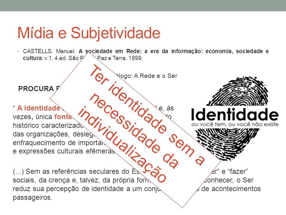Ter identidade sem a necessidade da individualização