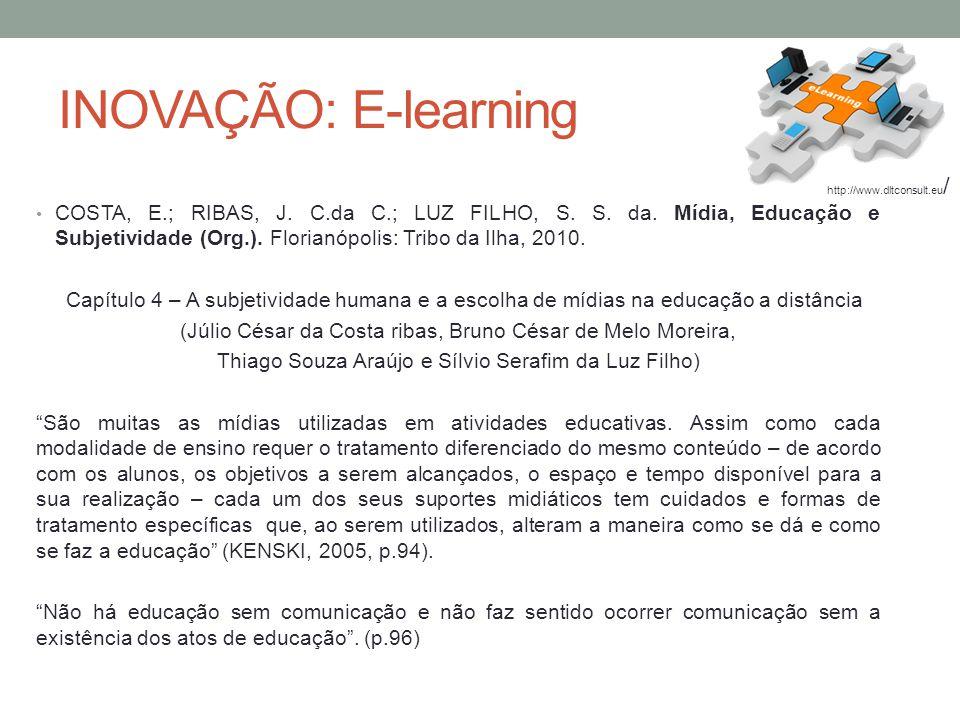 INOVAÇÃO: E-learning http://www.dltconsult.eu/