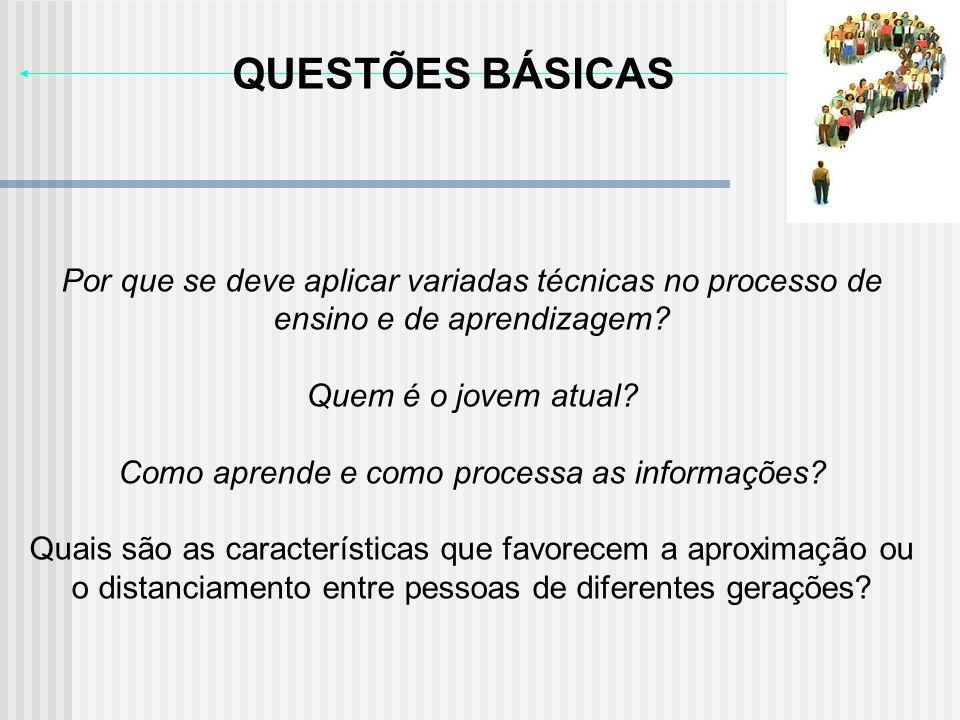 Como aprende e como processa as informações