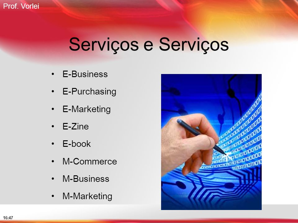 Serviços e Serviços E-Business E-Purchasing E-Marketing E-Zine E-book
