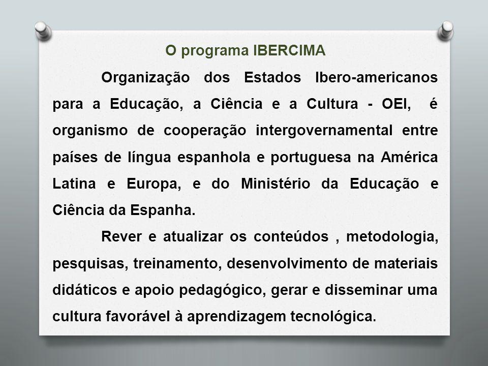 O programa IBERCIMA