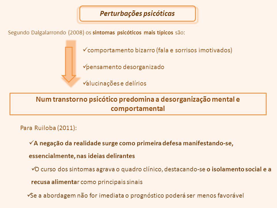 Perturbações psicóticas
