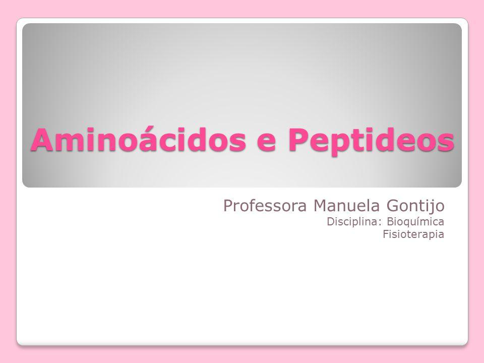 Aminoácidos e Peptideos