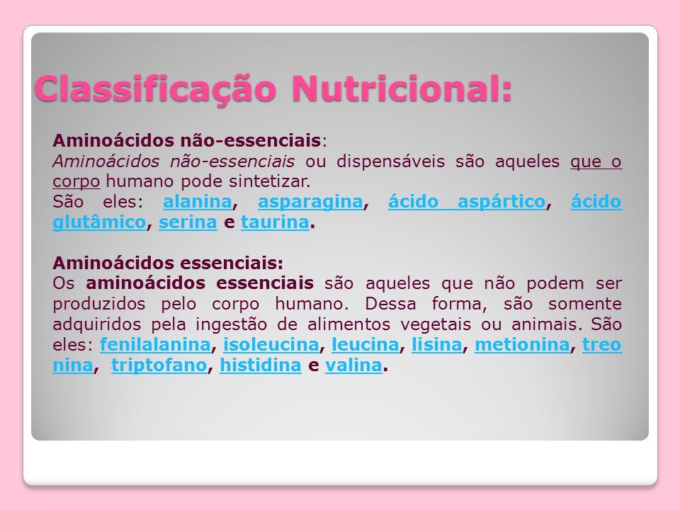 Classificação Nutricional: