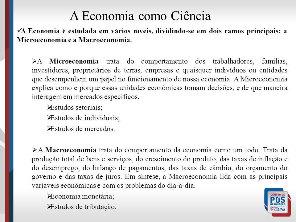A Economia como Ciência