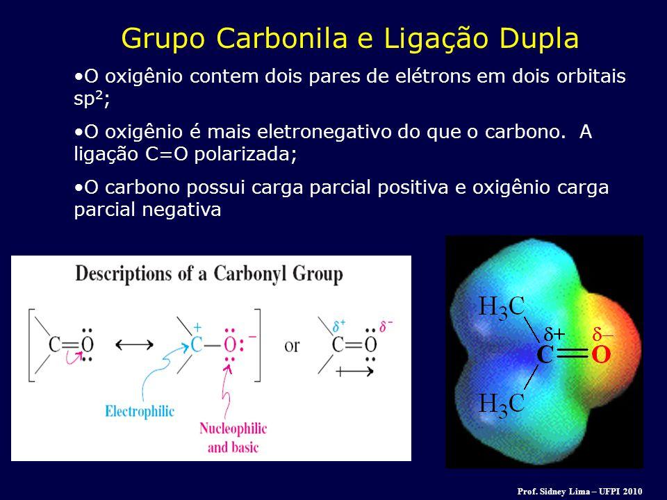 Grupo Carbonila e Ligação Dupla