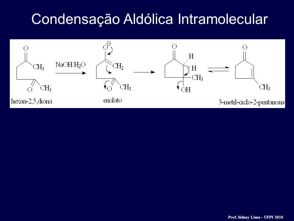 Condensação Aldólica Intramolecular