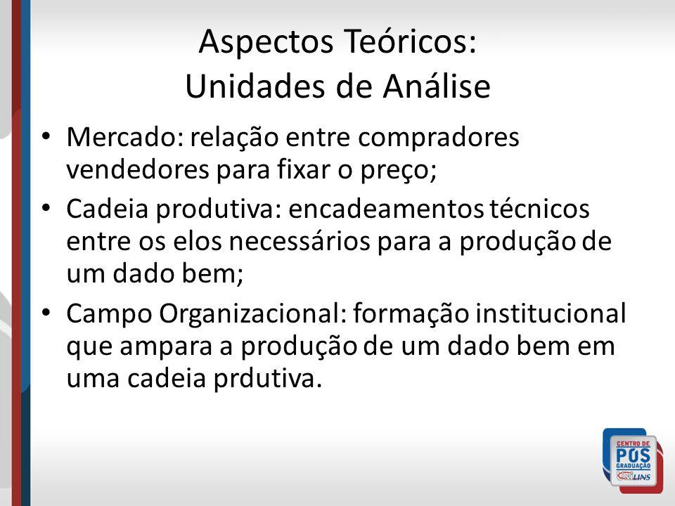 Aspectos Teóricos: Unidades de Análise