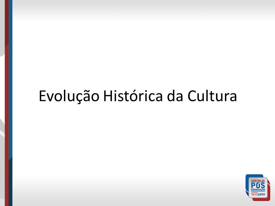 Evolução Histórica da Cultura