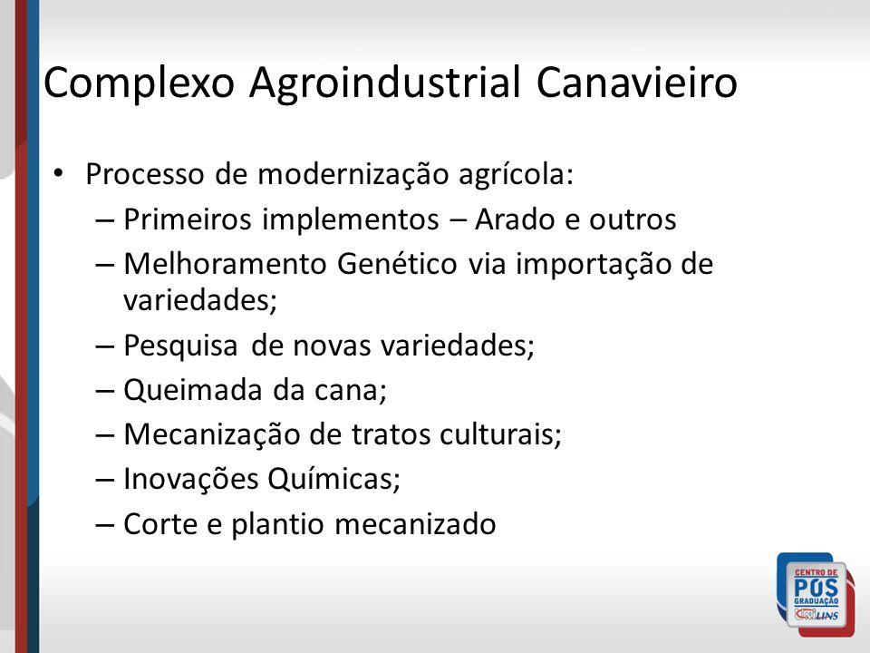 Complexo Agroindustrial Canavieiro