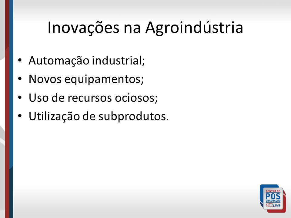 Inovações na Agroindústria