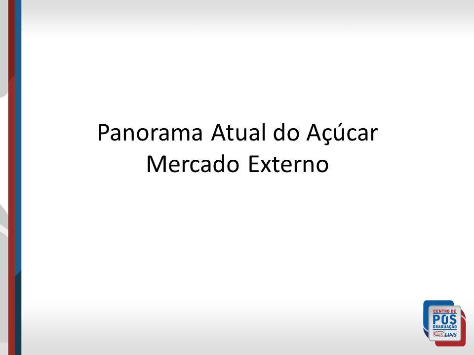Panorama Atual do Açúcar Mercado Externo