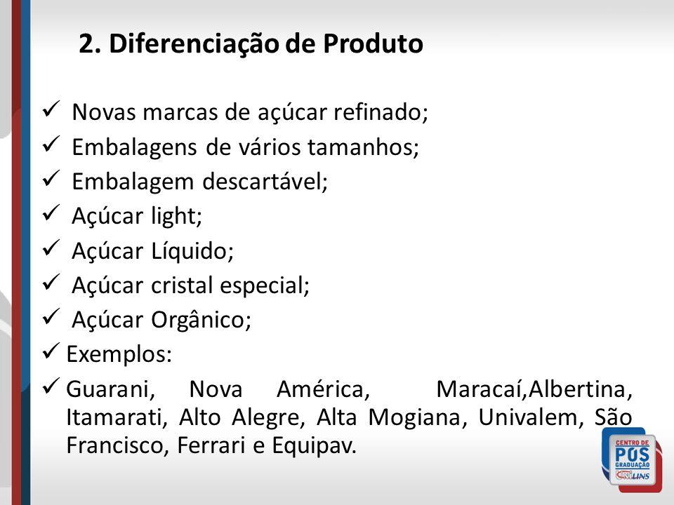2. Diferenciação de Produto