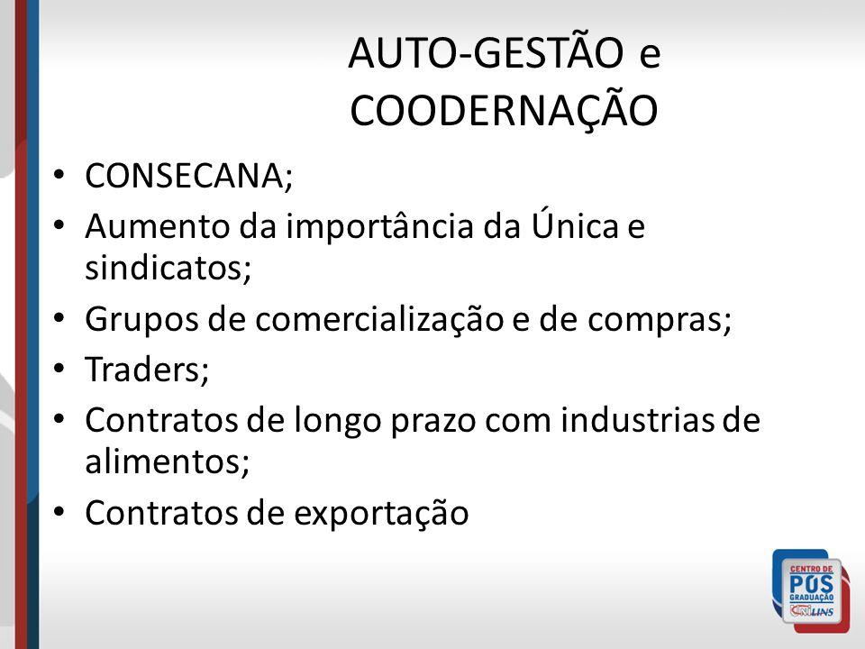 AUTO-GESTÃO e COODERNAÇÃO