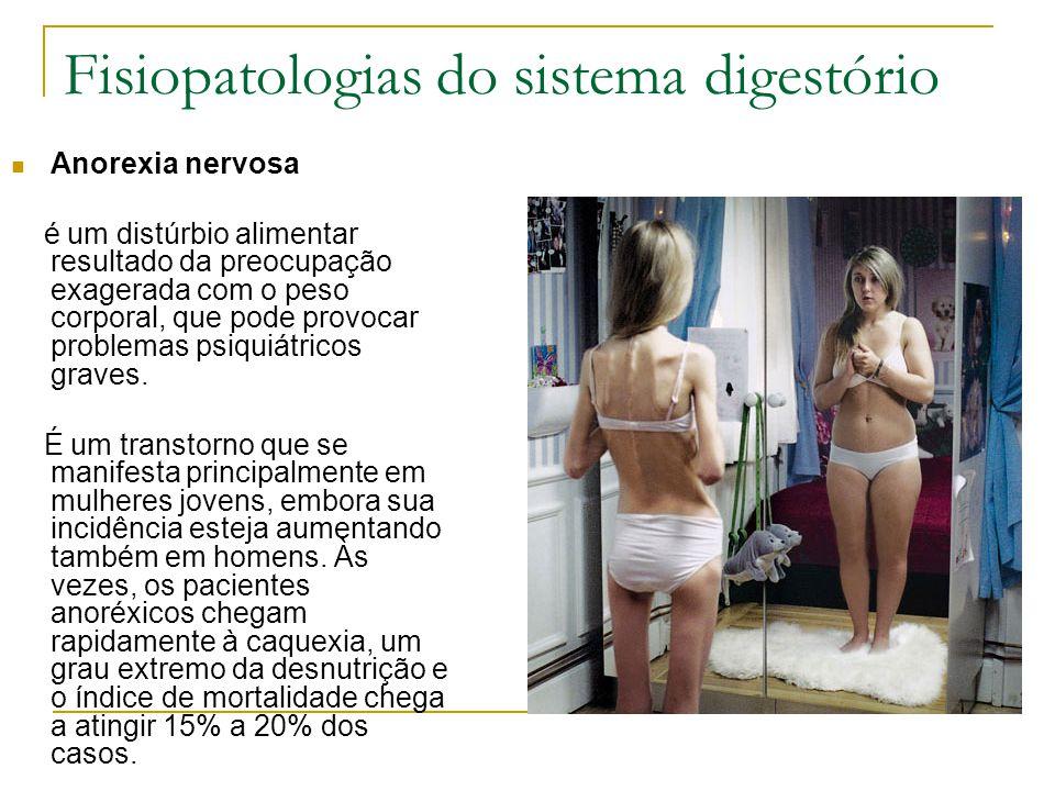 Fisiopatologias do sistema digestório