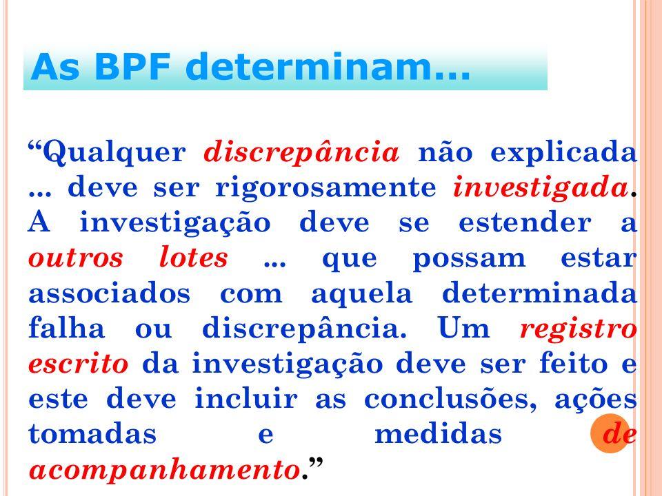 As BPF determinam...