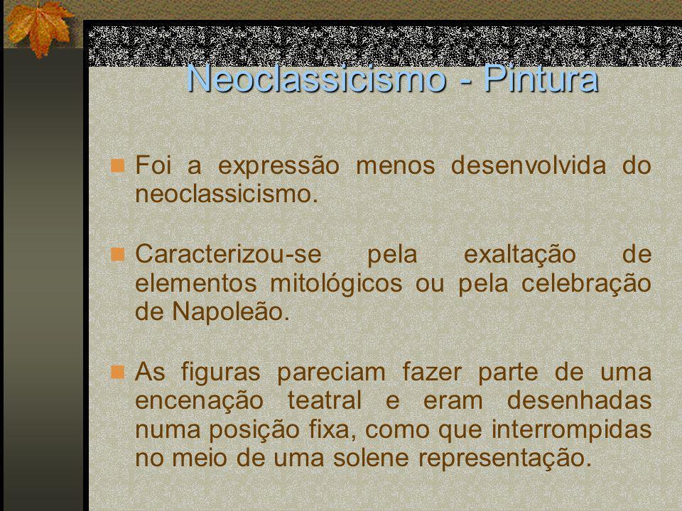 Neoclassicismo - Pintura