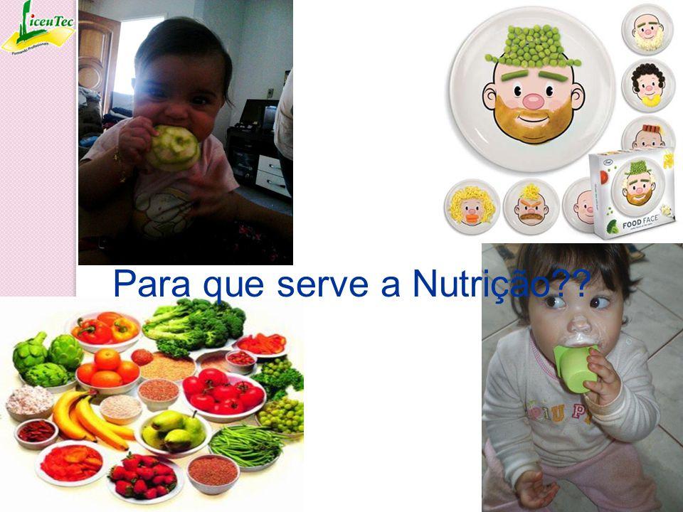 Para que serve a Nutrição