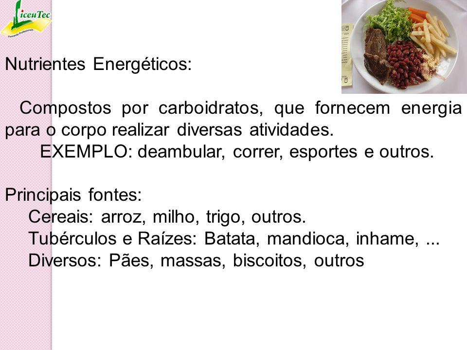 Nutrientes Energéticos: