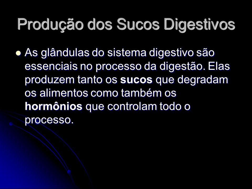 Produção dos Sucos Digestivos