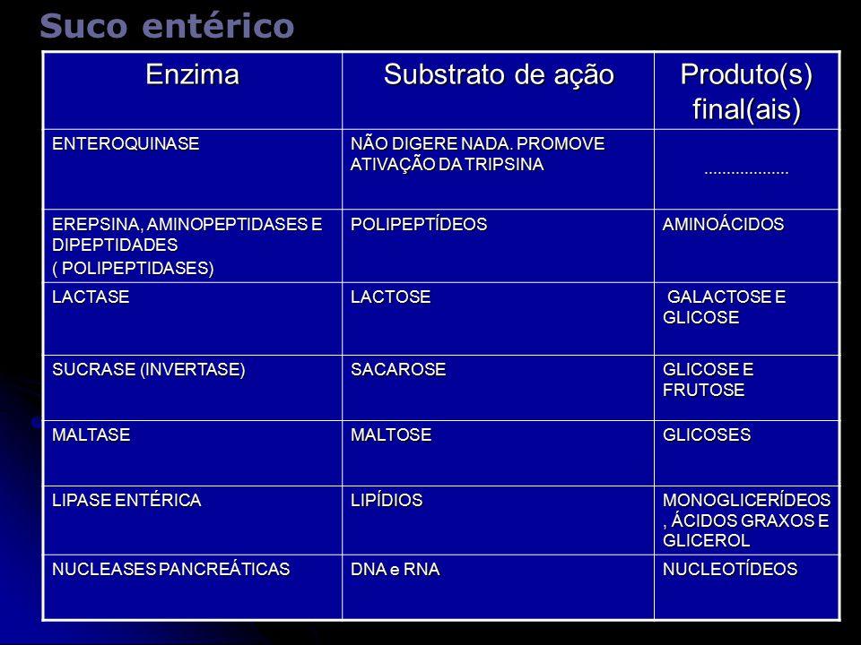 Produto(s) final(ais)