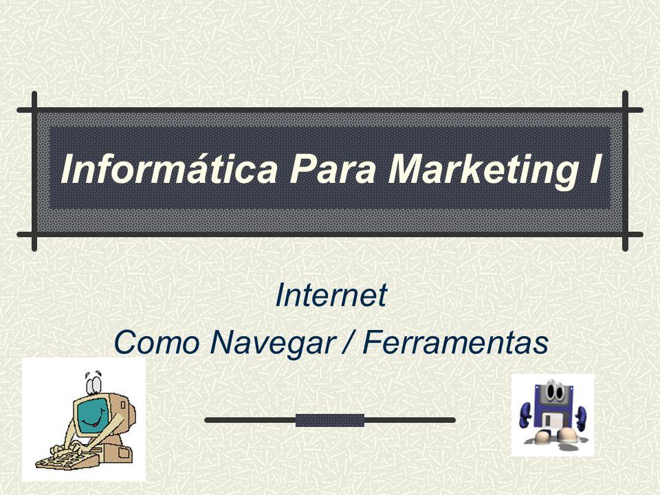 Informática Para Marketing I