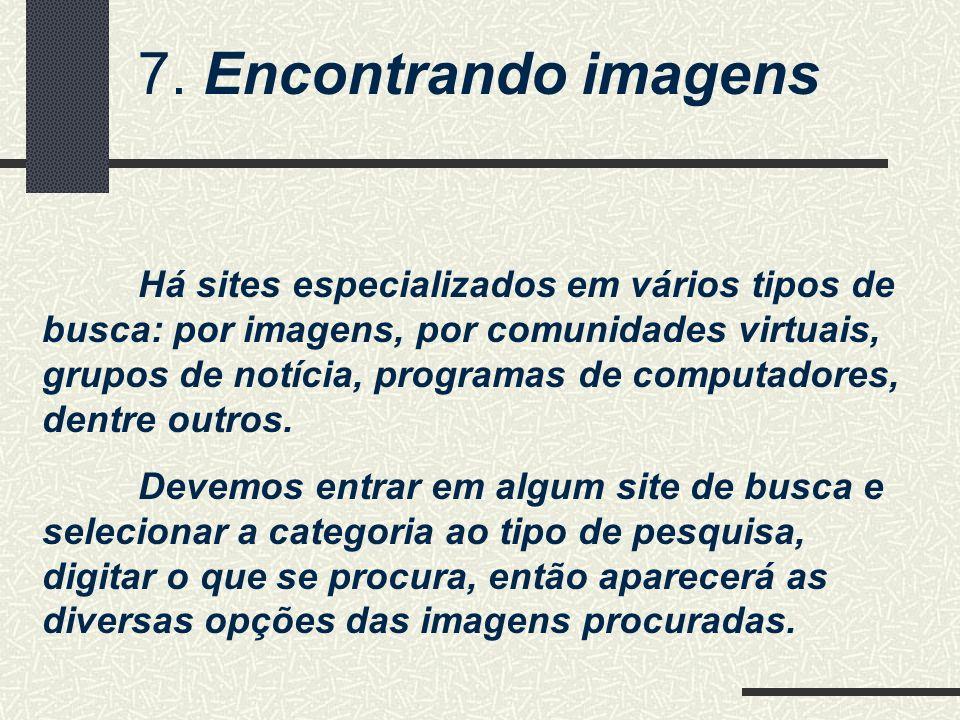 7. Encontrando imagens