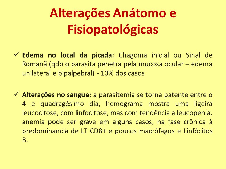 Alterações Anátomo e Fisiopatológicas