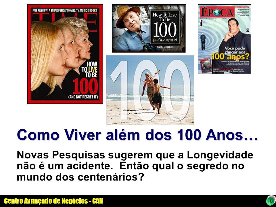 Como Viver além dos 100 Anos…