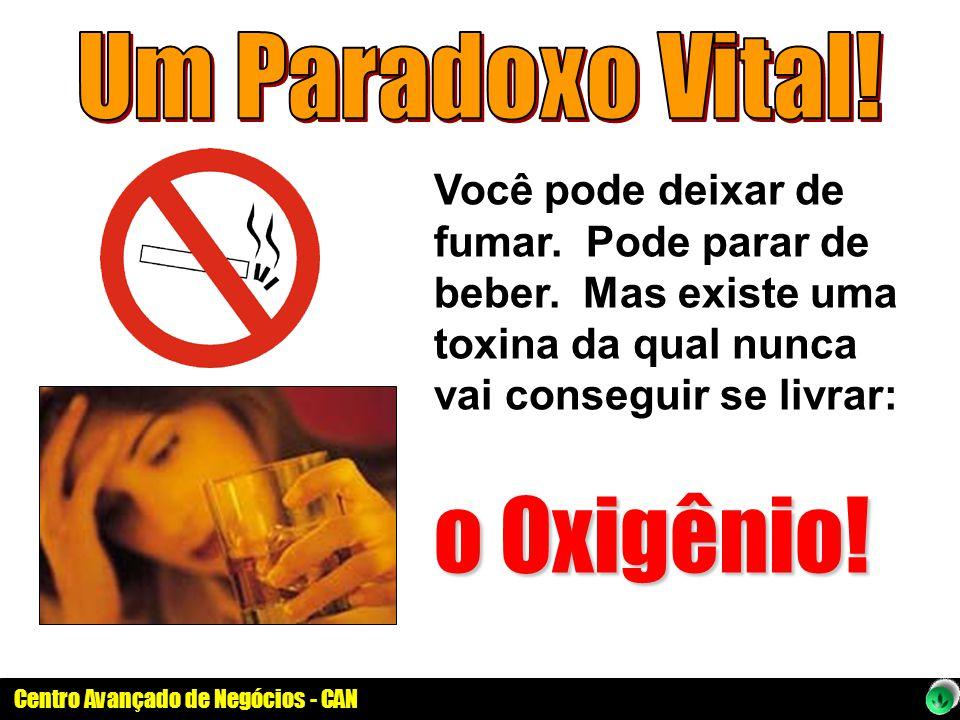 o Oxigênio! Um Paradoxo Vital!