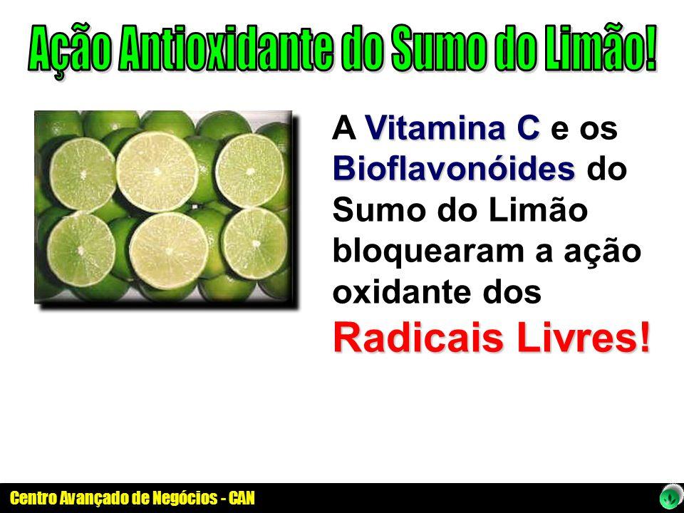 Ação Antioxidante do Sumo do Limão!